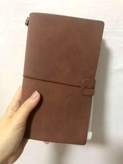 brown notebook 📔