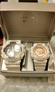 G-SHOCK + BABY-G COUPLE WATCH (100% New & Real)