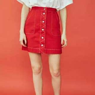 2018年夏款jouetie 半身裙
