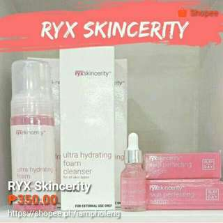 RYX SKINCERITY ULTRA HYDRATING FOAM CLEANSER & PERFECTING SERUM