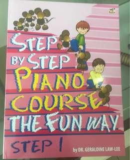 Buku musik klasik step by step