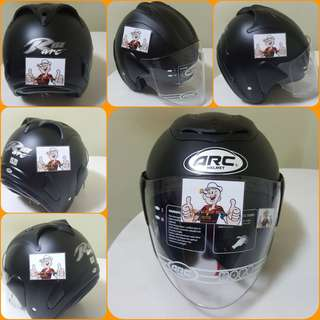 0607👀👁 ARC RITZ Matt BLACK Helmet For Sale 😁😁Thanks To All My Buyer Support 🐇🐇 Yamaha, Honda, Suzuki