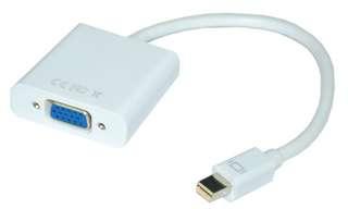 🔆保固三個月🔆Mini Displayport公轉VGA母15cm主動式:支持多螢幕