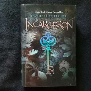 INCARCERON by Catherine Fisher (Hard cover)