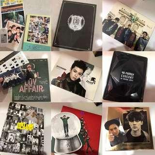 EXO ALBUMS/ BTS ALBUM