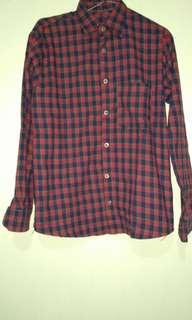 baju ukuran xxs flanel