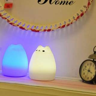 815. Creative Led Silicone Animal Lights Usb Rechargeable Colorful Night Light,