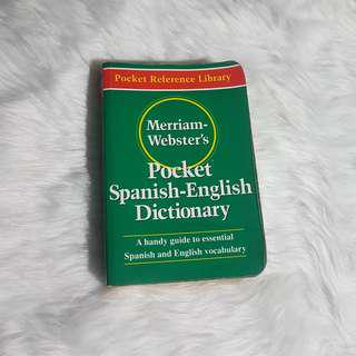 Spanish-English Dictionary