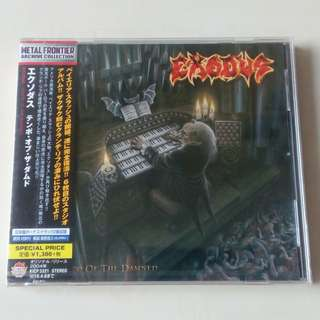 CD Exodus - Tempo of The Damned