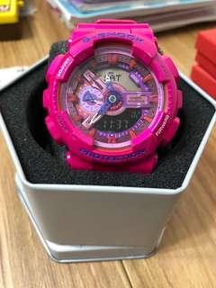 G-SHOCK手錶 (桃紅色)