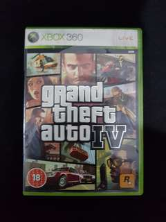 GTA 4 (IV) original for xbox 360