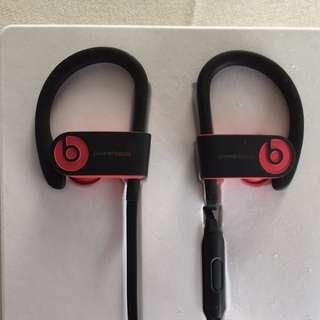 Beats Powerbeats 3 Wireless Active Collection藍牙無線運動耳機–紅 全新