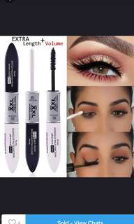 2 in 1 extra length microfiber mascara