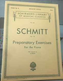 Buku piano klasik schmitt