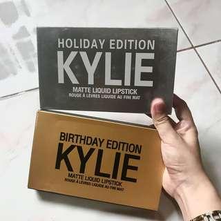 Kylie Matte Liquid Lipstick Set (180/set; 35/each)
