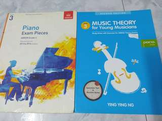 Piano books Grade 3