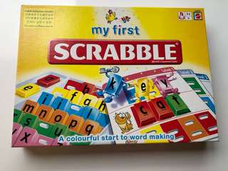 My First Scrabble ages 3-6