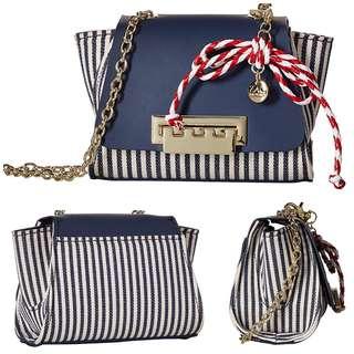 [SALE]Zac Posen|Crossbody bag|Textile|Leather|Chain#️⃣341UB