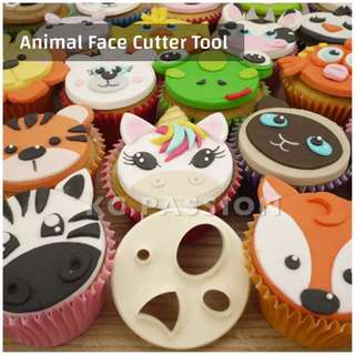 🐯 ANIMAL FACE CUTTER TOOL