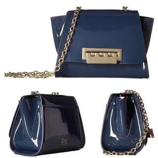 [SALE]Zac Posen|Crossbody bag|Leather漆面|Chain#️⃣326UB