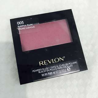 Revlon Powder Blush (Playful Plum)