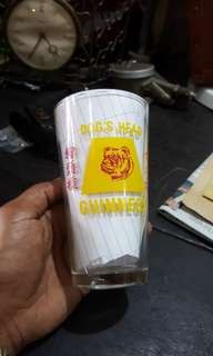 Old Bull Dog Beer Merdeka Glass