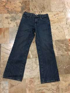Childrens Place bootcut basic pants jeans