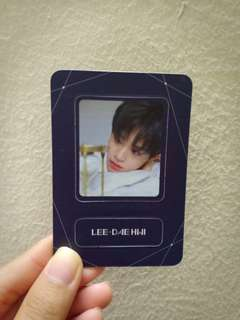 [WTT] The Heal ver. Got Daehwi magnet ➡️Want SungWoo Set