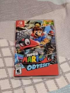 Mario Odyssey Nintendo Seitch
