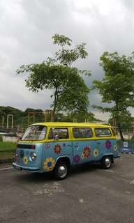 Vw Hippie Bus for Rent