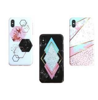 Hexagon Marble Case Softcase​