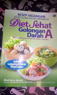 Diet sehat golongan darah A