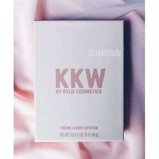 [SOLD OUT] KKW Creme Liquid Lipstick Collection *Instock!*