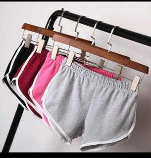 Elastic Woman Cotton Shorts