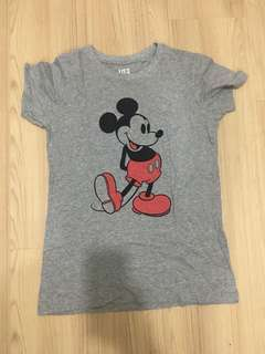 Uniqlo Mickey Mouse Tshirt
