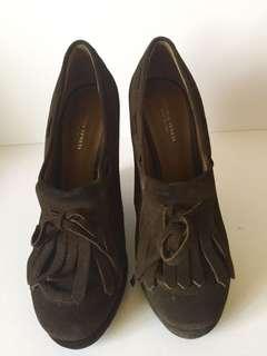 Authentic Bottega Veneta wedge shoes