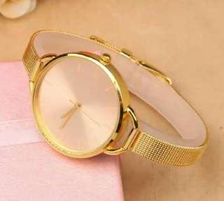 Jam tangan geneva premium stainless
