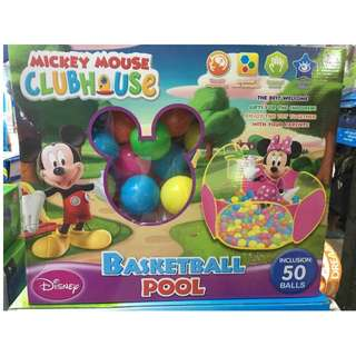 mickey mouse clubhouse basketball with balls