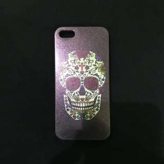 Bohemian Skull Purple Case for Iphone 5/5s
