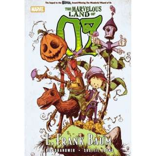 The Marvelous World Of Oz (Marvel) By Eric Shanower And Skottie Young - Hardcover comics graphic novels (Wizard of Oz)