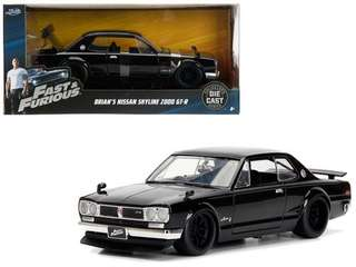 Fast & Furiuos Nissan 2000 GTR 1:24 Diecast collectibles