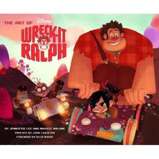 The Art of Disney Wreck-It Ralph (Hardcover book)
