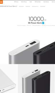 Xiaomi Powerbank Gen 2 10000mAh (One Port)