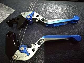 Honda NC750X foldable brake/clutch levers