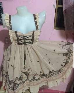 Axes Femme Peach Dress JSK