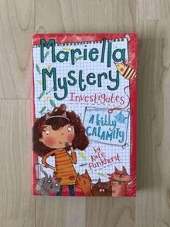 Mariella Mystery investigates: A Kitty Calamity by Kate Pankhurst