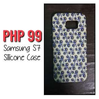 SAMSUNG S7 EDGE SILICONE CASE