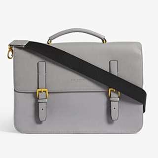 TED BAKER Barma rubber-look satchel