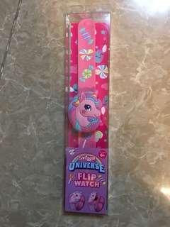 Smiggle Universe Flip Watch Unicorn