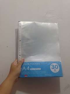Clear pocket a4 // NO NEGO